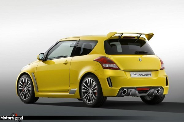 la nouvelle suzuki swift sport pour 2012 actualit. Black Bedroom Furniture Sets. Home Design Ideas