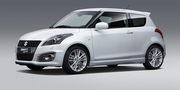 Francfort 2011 : Suzuki Swift Sport