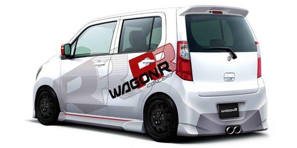 Suzuki se lâche sur le Wagon R