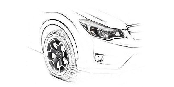 Subaru XV, un teaser en vue de Francfort