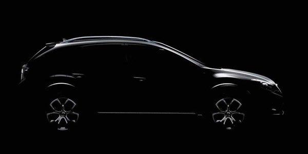 Subaru tease un XV Concept