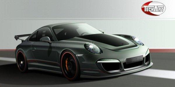 TechArt cible déjà la Porsche 911 (991)