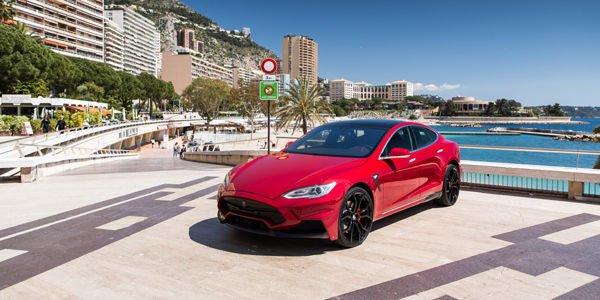 Larte Design prépare une Model S de 900 ch