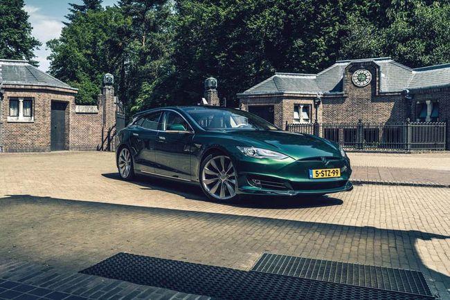 Tesla Model S Shooting Brake par RemetzCar