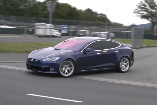 La Tesla Model S nouvelle reine du Nürburgring ?