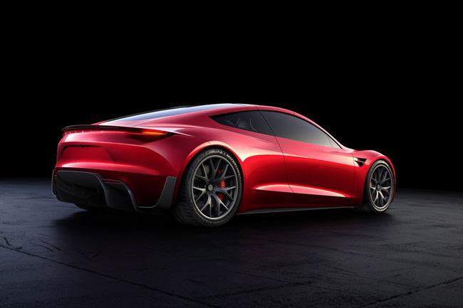 Tesla Roadster : 400 km/h en pointe et 1 000 km d'autonomie