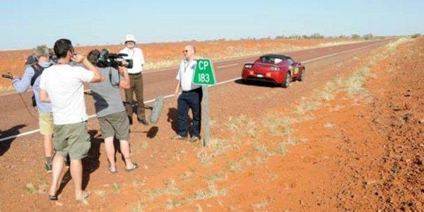 Record d'autonomie pour le Tesla Roadster