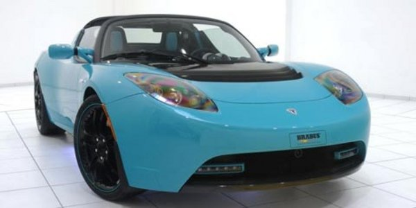 Brabus «tune» le Tesla Roadster