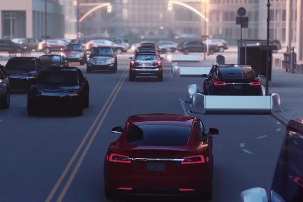 Un teaser pour le futur camion Tesla