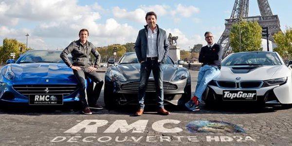 Top Gear France dévoile ses animateurs