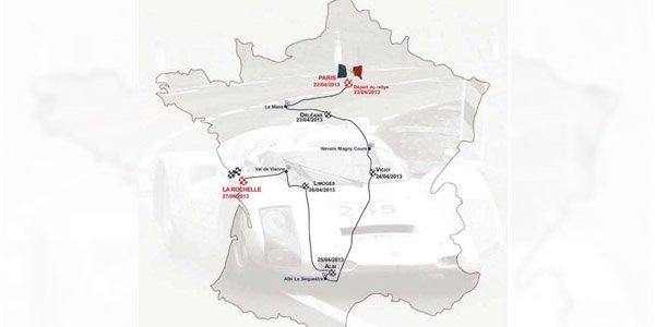 Tour Auto 2013 : l'itinéraire dévoilé