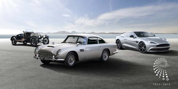 Aston Martin lance son Tour du Centenaire