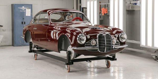 Deux créations Touring Superleggera à Rétromobile