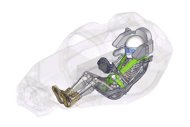 Nouveau projet pour THUMS, le mannequin virtuel de Toyota