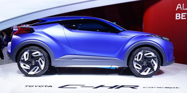 Toyota C-HR Concept : le Crossover de demain