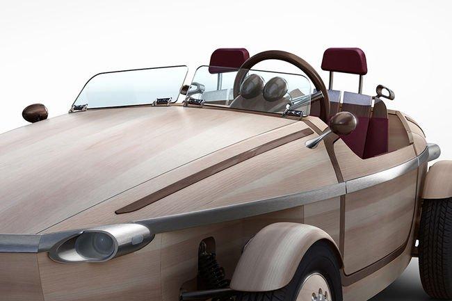 Concept Setsuna : Toyota touche du bois
