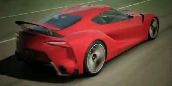 La Toyota FT-1 dans Gran Turismo 6
