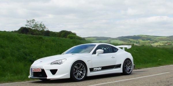 Gazoo Racing s'occupe de la Toyota GT 86