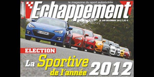 GT 86 et BRZ, sportives de l'année