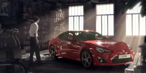 Toyota GT86 : une publicité interdite