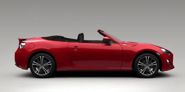 Toyota GT86 : le cabriolet à Genève ?