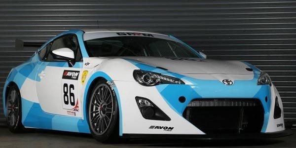 La Toyota GT86 GT4 homologuée FIA