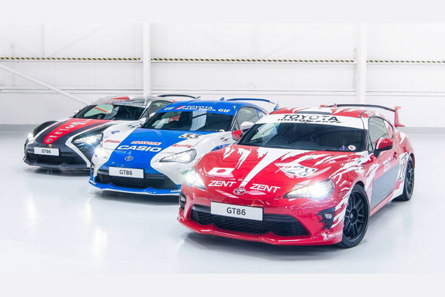 One-off Toyota GT86 Le Mans 86th edition