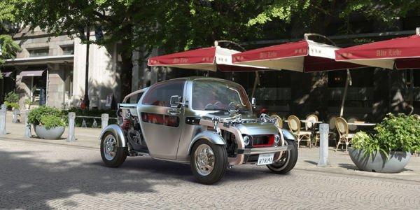 Le concept Toyota Kikai présenté à Tokyo