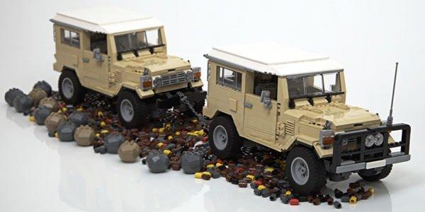 Bientôt un Lego Land Cruiser J40 en rayon ?