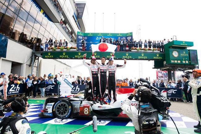 Toyota remporte les 24 Heures du Mans