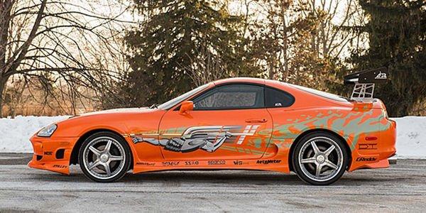 La Toyota Supra de Fast & Furious aux enchères