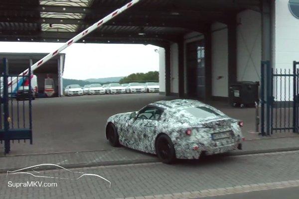 Future Toyota Supra : premières images animées