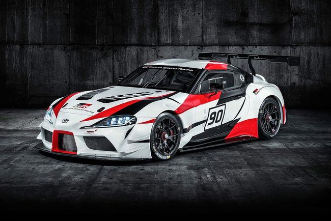 Un teaser pour le concept Toyota GR Supra Super GT