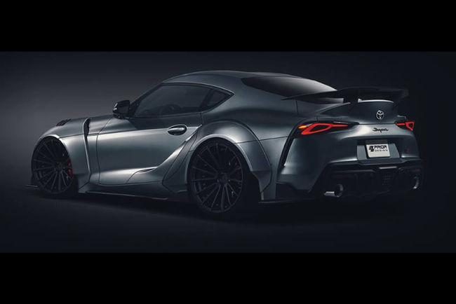 Toyota Supra A90 par Prior Design GmbH