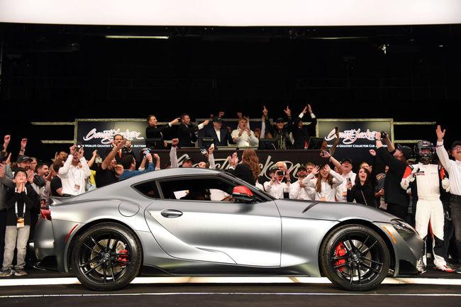 La première Toyota Supra MkV est assemblée