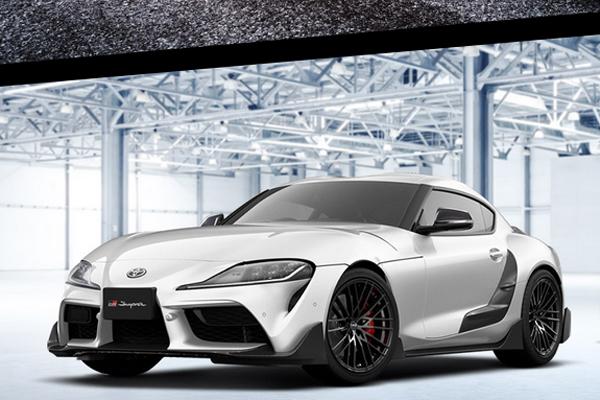 TRD propose un premier kit pour la Toyota Supra