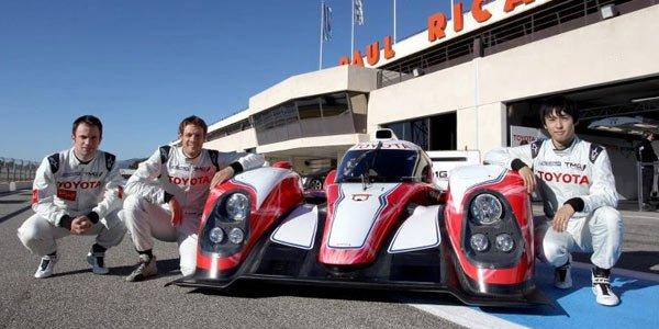 Toyota dévoile la TS030 LMP1