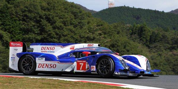 WEC/Fuji : Toyota bien placé aux essais