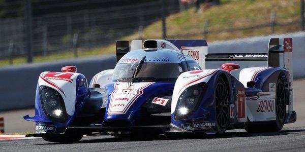 WEC : Nakajima offre la pole à Toyota !