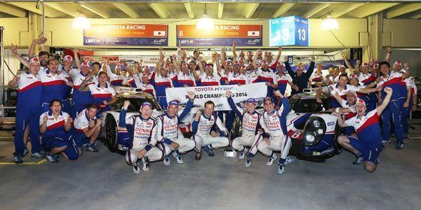 WEC : Toyota Champion du Monde des Constructeurs