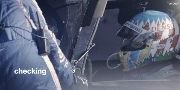 WEC: teaser vidéo pour la Toyota TS040