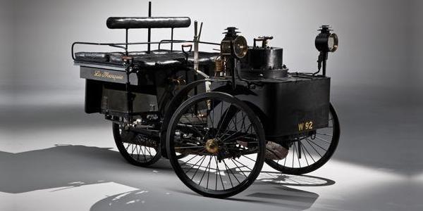 La plus vieille automobile aux enchères