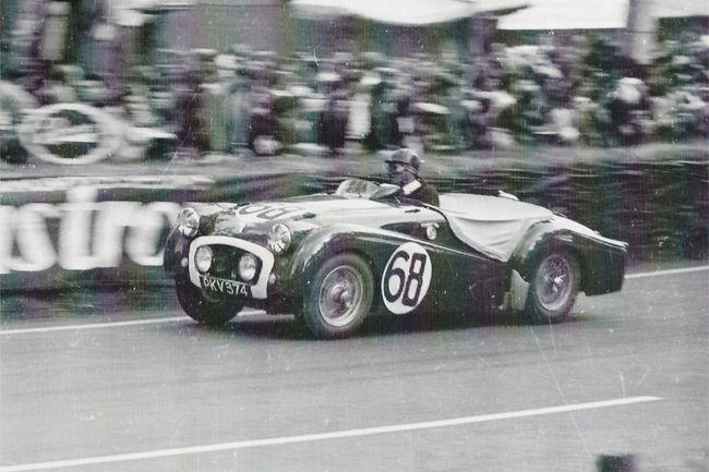 Silverstone Auctions : Triumph TR2 Le Mans 1955