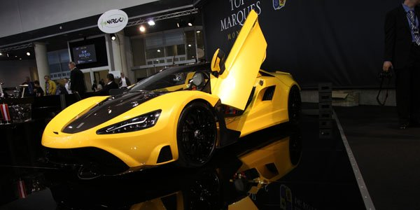 Top Marques Monaco 2014 : Tushek TS 600