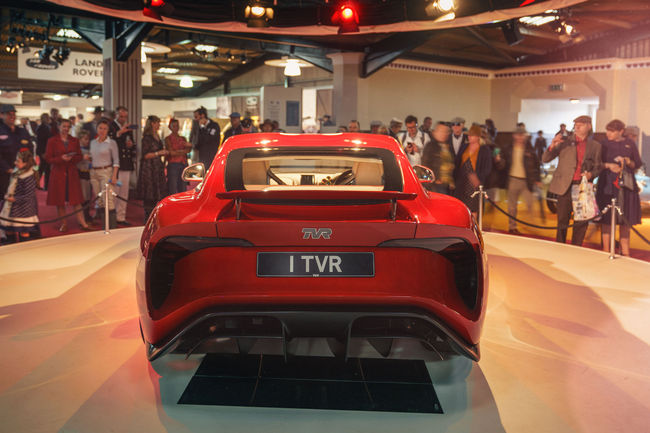 L'entrée en production de la nouvelle TVR Griffith repoussée