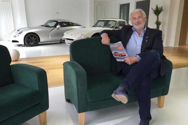 La nouvelle TVR sera produite au Pays de Galles