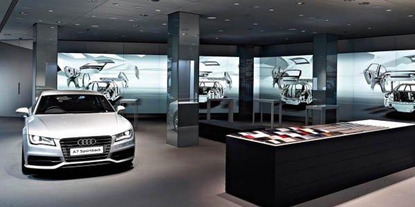 Audi ouvre un showroom numérique
