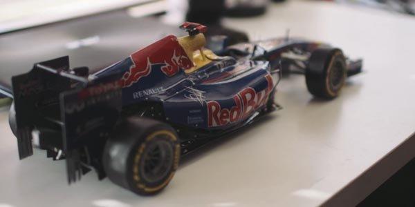De la maquette en papier au Team Red Bull F1