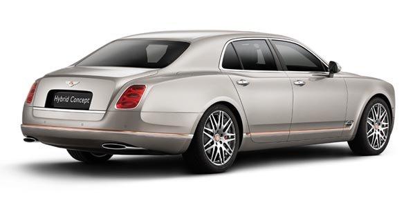 Un concept Bentley Hybrid présenté à Pékin