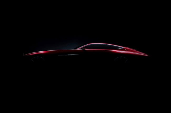 Un concept Mercedes Maybach à Pebble Beach